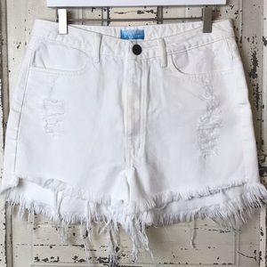 Show me your mumu Wyoming high waisted shorts